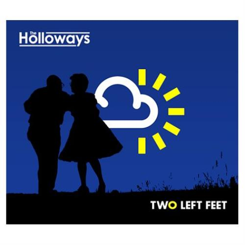 "The Holloways Two Left Feet 7"" vinyl single (7 inch record) UK HOY07TW414606"