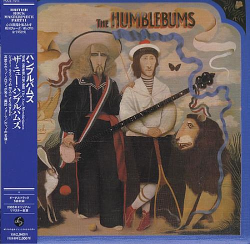 The Humblebums The New Humblebums CD album (CDLP) Japanese UHBCDTH359166