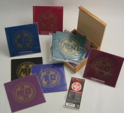 "The Police The Police Box + Obi 7"" box set Japanese POL7XTH419017"