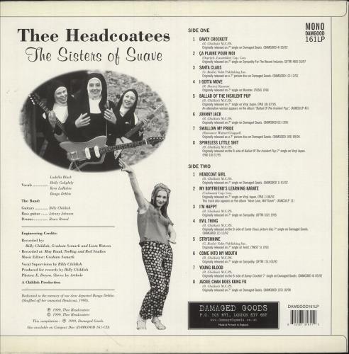 Thee Headcoatees The Sisters Of Suave vinyl LP album (LP record) UK HEOLPTH746641