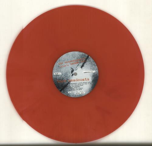 Thee Headcoats The Messerschmitt Pilot's Severed Hand - Red Vinyl vinyl LP album (LP record) UK HDCLPTH704332