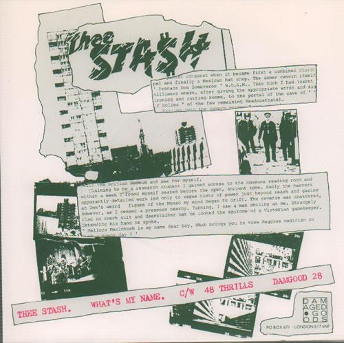 "Thee Stash Suave As Old Arseholes 7"" vinyl single (7 inch record) UK XM007SU637146"