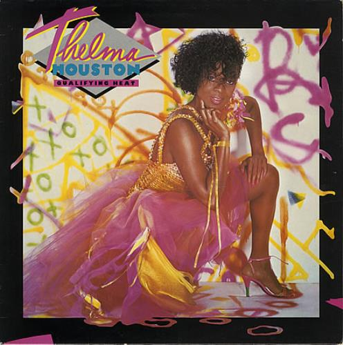 Thelma Houston Qualifying Heat vinyl LP album (LP record) UK THHLPQU388448