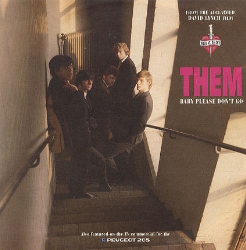 "Them Baby Please Don't Go 7"" vinyl single (7 inch record) UK T-M07BA160177"