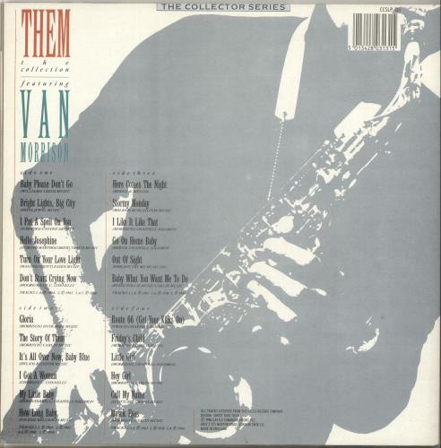 Them The Collection 2-LP vinyl record set (Double Album) UK T-M2LTH546897