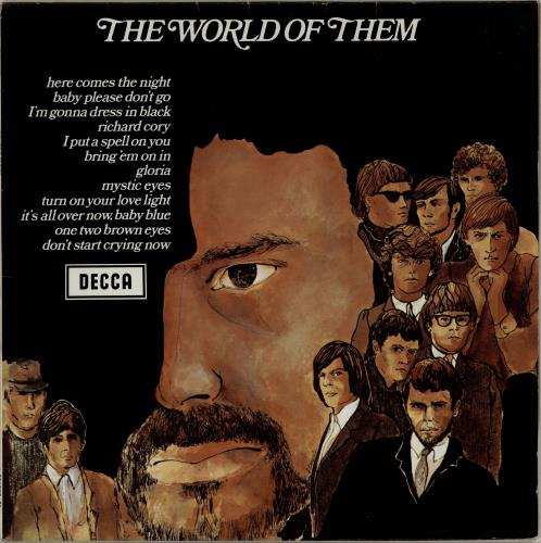 Them The World Of Them vinyl LP album (LP record) German T-MLPTH211507