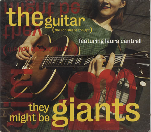 "They Might Be Giants The Guitar CD single (CD5 / 5"") US TMGC5TH471781"