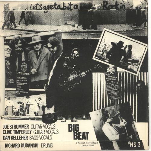 """The 101'ers Keys To Your Heart + picture sleeve 7"""" vinyl single (7 inch record) UK T1E07KE169979"""