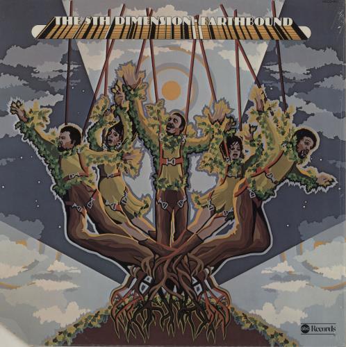 The 5th Dimension Earthbound vinyl LP album (LP record) US 5THLPEA757174
