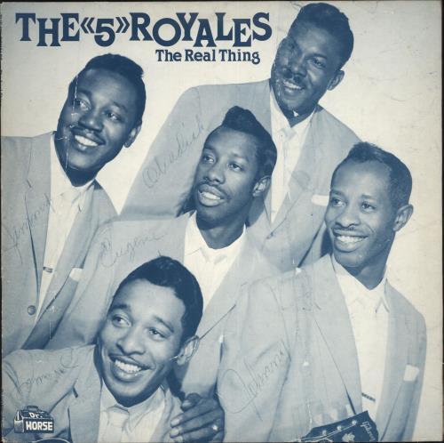 The 5 Royales The Real Thing vinyl LP album (LP record) UK V14LPTH737131