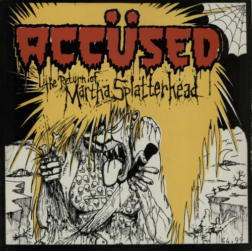The Accused The Return Of Martha Splatterhead vinyl LP album (LP record) UK T-0LPTH594981