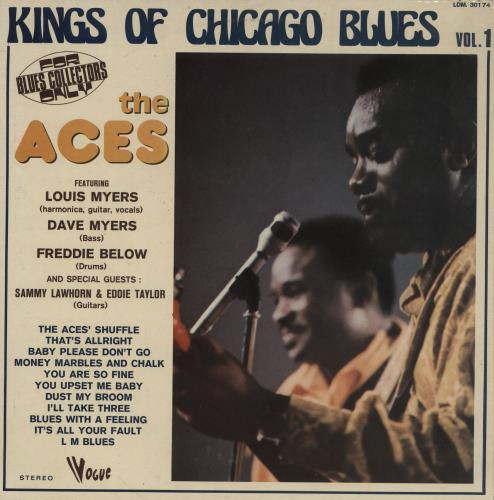 The Aces Kings Of Chicago Blues Vol. 1 vinyl LP album (LP record) French 2RLLPKI761181