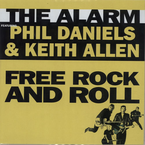 The Alarm Free Rock And Roll CD-R acetate UK ALACRFR584219
