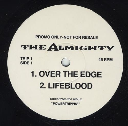 """The Almighty Powertrippin' Sampler 12"""" vinyl single (12 inch record / Maxi-single) UK AMT12PO63818"""
