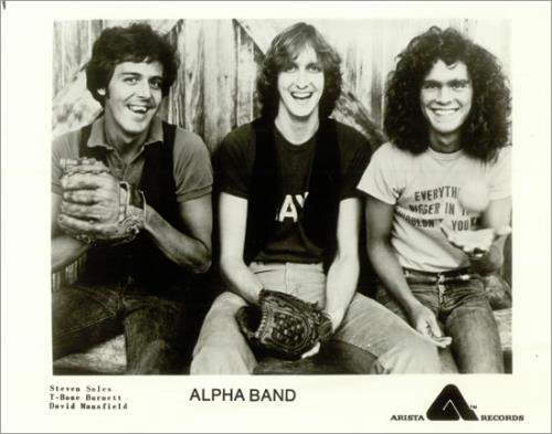 The Alpha Band The Statue Makers Of Hollywood media press pack US TJQPPTH497607