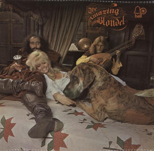 The Amazing Blondel The Amazing Blondel & A Few Faces - 1st vinyl LP album (LP record) UK AMZLPTH89929