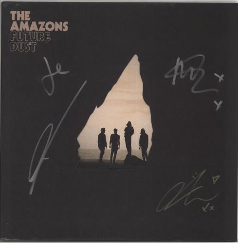 The Amazons Future Dust - 180gram Vinyl + Autographed vinyl LP album (LP record) UK X-ILPFU722483