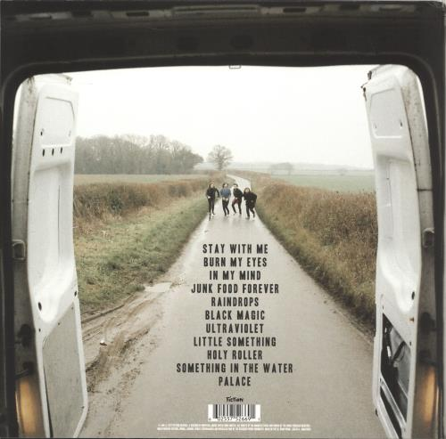The Amazons Junk Food Forever - Clear Vinyl - Autographed vinyl LP album (LP record) UK X-ILPJU706459