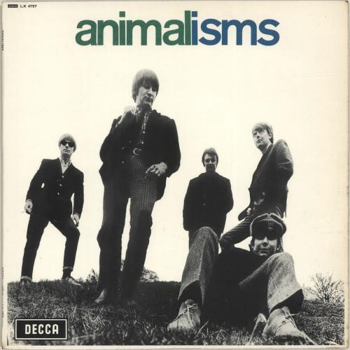 The Animals Animalisms - EX vinyl LP album (LP record) UK ANMLPAN692037