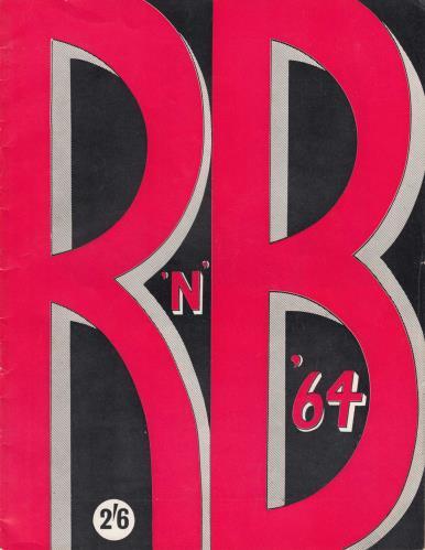 The Animals R'N'B '64 tour programme UK ANMTRRN669325