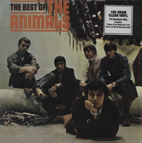 The Animals The Best Of The Animals - 180gm - Clear vinyl LP album (LP record) US ANMLPTH704516