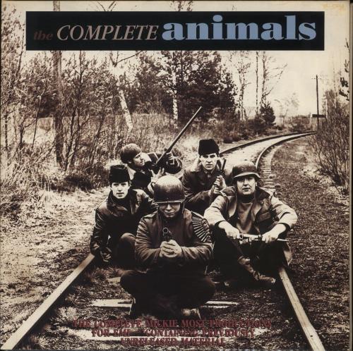 The Animals The Complete Animals 2-LP vinyl record set (Double Album) UK ANM2LTH586905