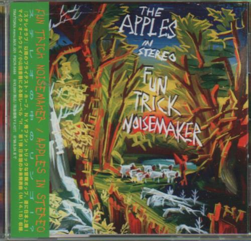 The Apples In Stereo Fun Trick Noisemaker CD album (CDLP) Japanese APZCDFU651873