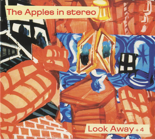 "The Apples In Stereo Look Away + 4 CD single (CD5 / 5"") US APZC5LO477564"