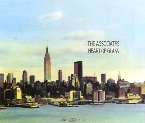 "The Associates Heart Of Glass 3"" CD single (CD3) German ATSC3HE108526"
