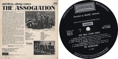 The Association And Then... Along Comes The Association - 2nd vinyl LP album (LP record) UK ASCLPAN380443