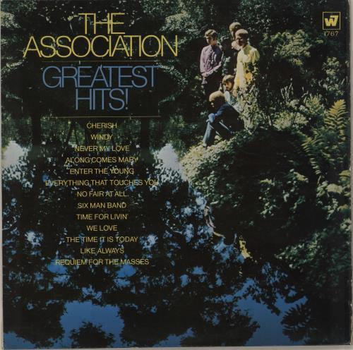 The Association Greatest Hits vinyl LP album (LP record) UK ASCLPGR716291