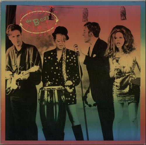 The B-52's Cosmic Thing vinyl LP album (LP record) UK B52LPCO329160