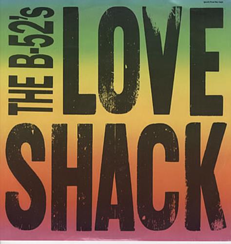 "The B-52's Love Shack 12"" vinyl single (12 inch record / Maxi-single) Australian B5212LO310238"