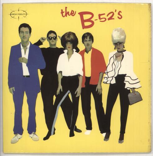 "The B-52's Rock Lobster 7"" vinyl single (7 inch record) UK B5207RO171560"