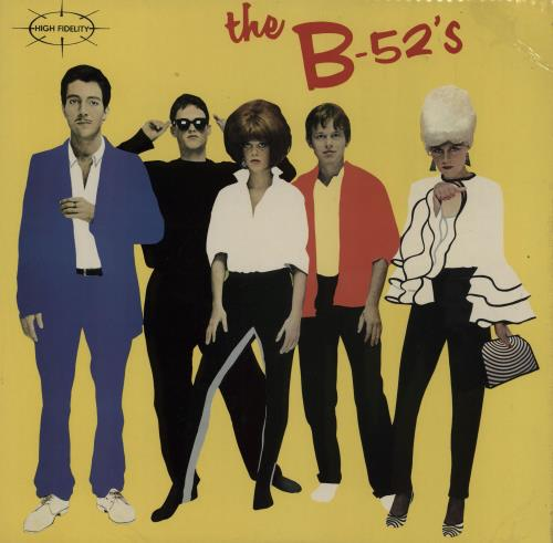 "The B-52's The B-52's - 1st + 7"" vinyl LP album (LP record) UK B52LPTH754658"