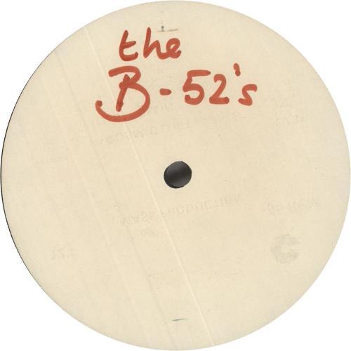 "The B-52's The B-52's - White Label Album Sampler 12"" vinyl single (12 inch record / Maxi-single) UK B5212TH746843"