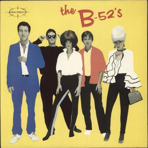 The B-52's The B-52's vinyl LP album (LP record) UK B52LPTH316095