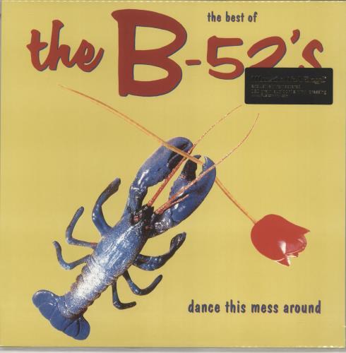 The B-52's The Best Of The B-52's - Dance This Mess Around - 180 Gram Vinyl vinyl LP album (LP record) UK B52LPTH766881