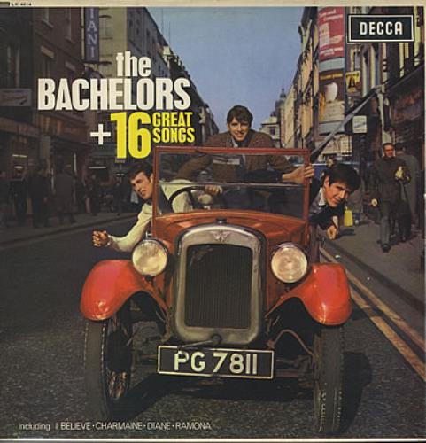 The Bachelors + 16 Great Songs vinyl LP album (LP record) UK BHLLPGR376660
