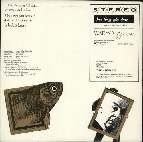 "The Bachelor Pad The Album Of Jack 12"" vinyl single (12 inch record / Maxi-single) UK ZWM12TH720702"