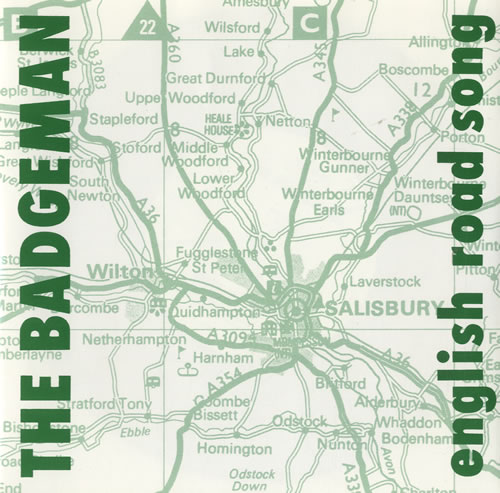 "The Badgeman English Road Song 7"" vinyl single (7 inch record) UK S7M07EN509271"