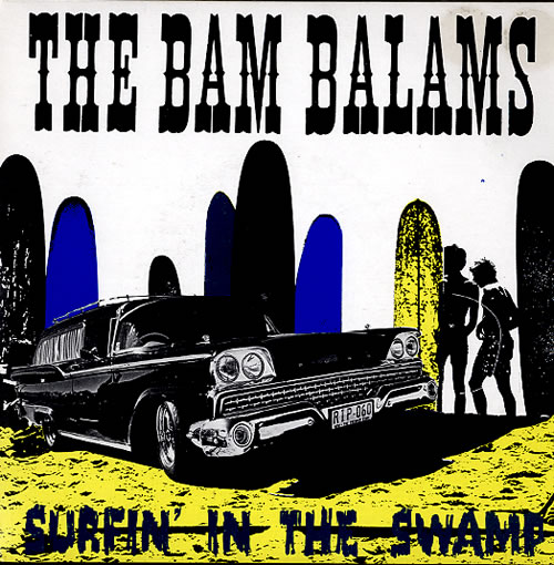 "The Bam Balams Surfin' In The Swamp 7"" vinyl single (7 inch record) Australian V6107SU592307"