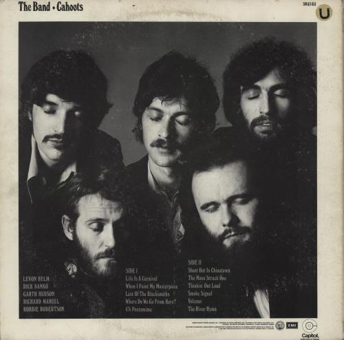 The Band Cahoots vinyl LP album (LP record) French T-BLPCA754742