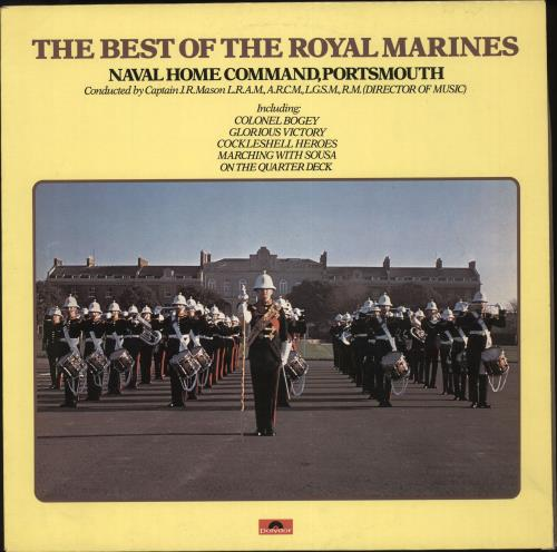 The Band Of H.M. Royal Marines The Best Of The Royal Marines vinyl LP album (LP record) UK UI3LPTH707728