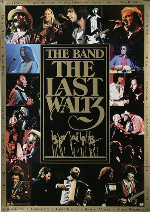 The Band The Last Waltz Japanese Promo Poster 483019