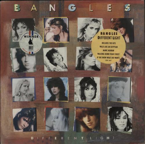 The Bangles Different Light - Double Stickered Sleeve vinyl LP album (LP record) UK BGLLPDI704161