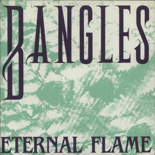 "The Bangles Eternal Flame Spanish 7"" vinyl single (7 inch record) (676588)"