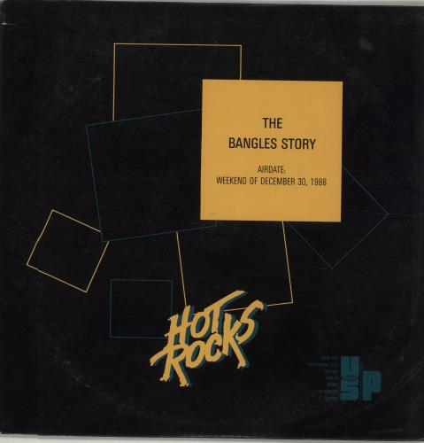 The Bangles Hot Rocks - The Bangles Story 2-LP vinyl record set (Double Album) US BGL2LHO677220