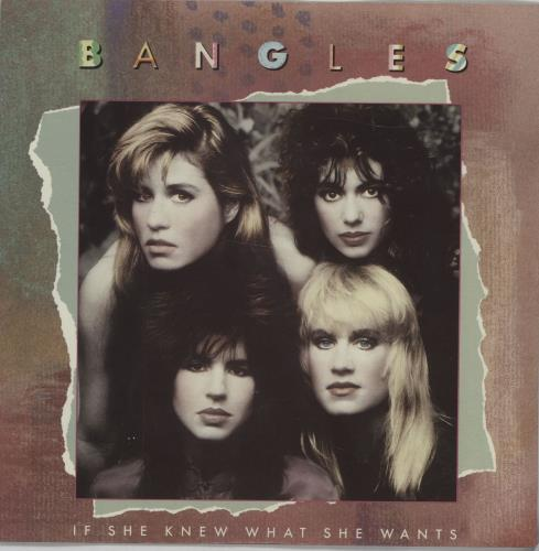 "The Bangles If She Knew What She Wants 7"" vinyl single (7 inch record) Australian BGL07IF677230"