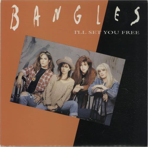 "The Bangles I'll Set You Free 7"" vinyl single (7 inch record) Australian BGL07IL324629"